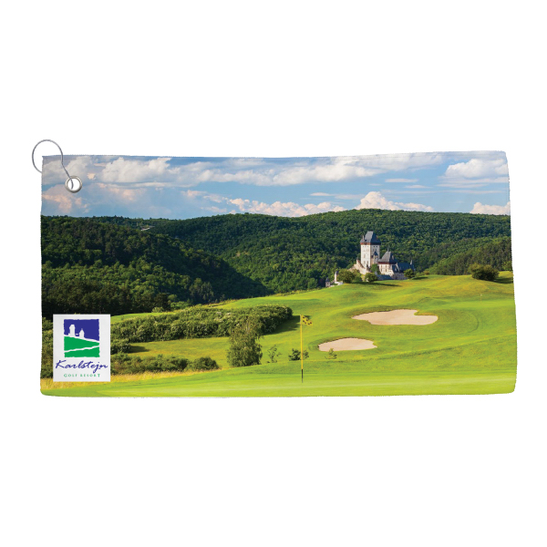 Golf Towel - Dye Sublimated | DBG Promotions - Promotional products