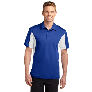 Sport-Tek® Side Blocked Micropique Sport-Wick® Polo