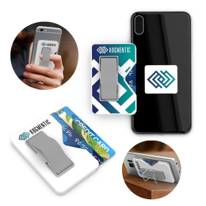 ClutchSlide: Cardholder, Phone Strap and Phone Stand